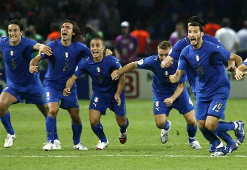 Italia en la Copa Mundial de Fútbol 2006