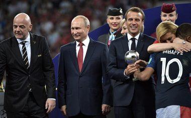 Mbappé Mejor Jugador Joven del Mundial de Rusia 2018