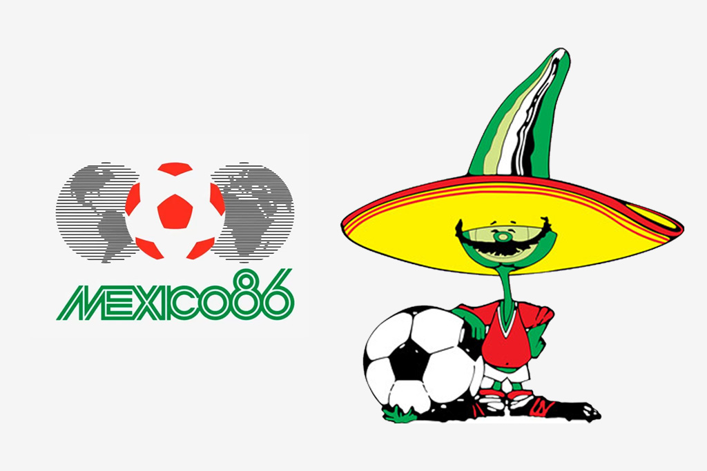 Logo y mascota (Pique) del Mundial de México 1986