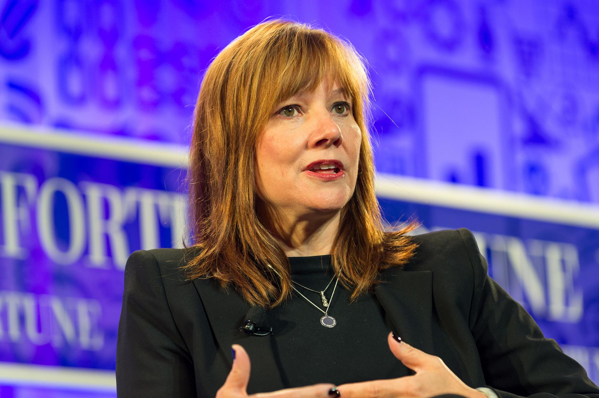 Mary Barra Presidenta y CEO de General Motors