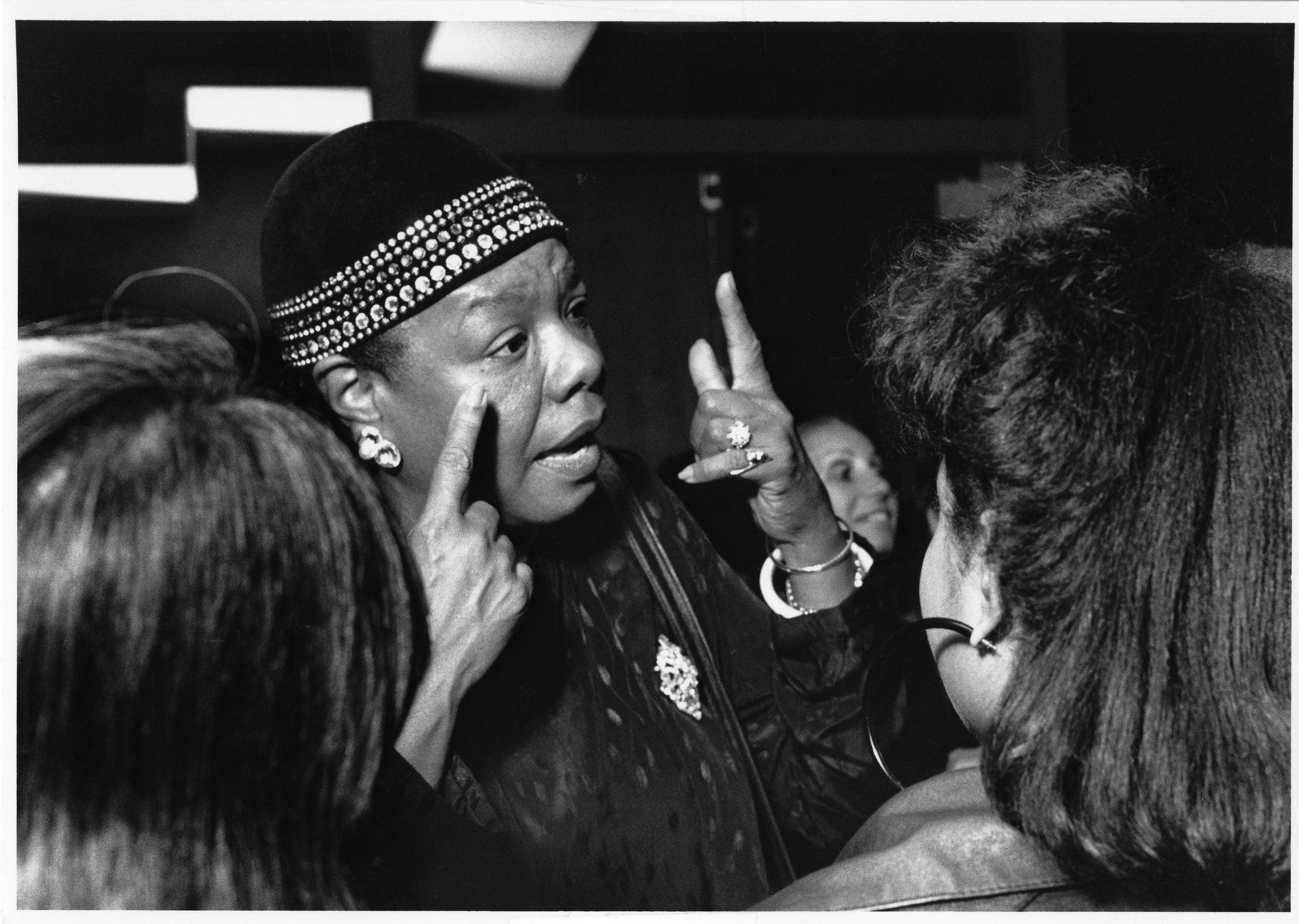 Maya Angelou en el Wheelock College