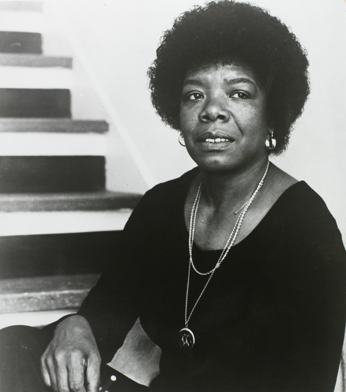 Maya Angelou en la década de 1980