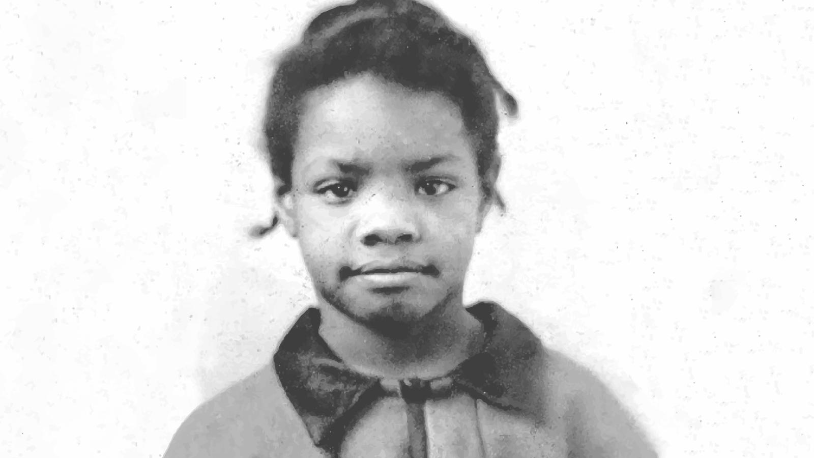 Maya Angelou de niña