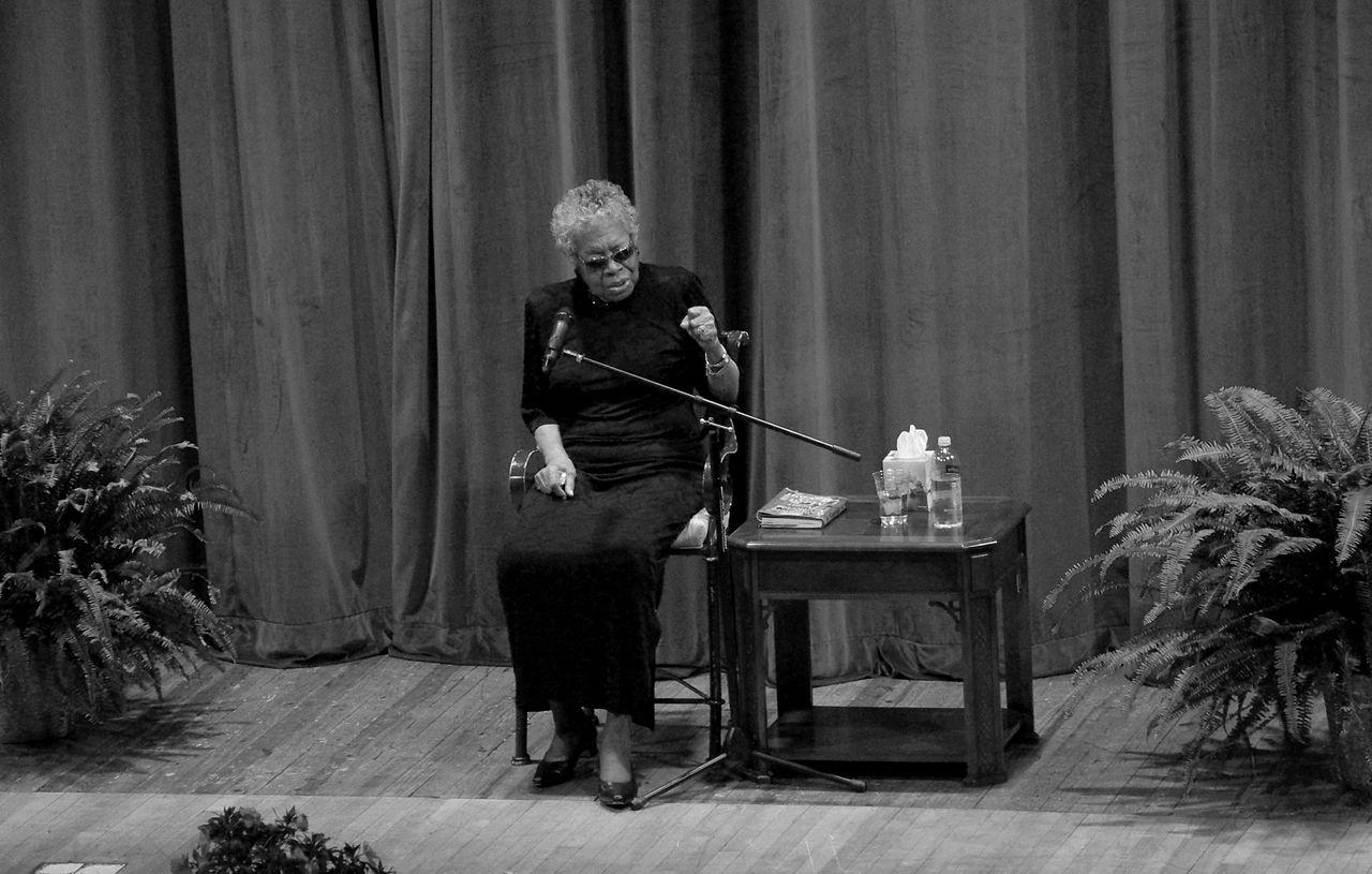 Maya Angelou en la Universidad Tecnológica de Tennessee