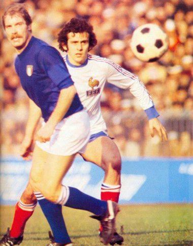 Michel Platini en 1978
