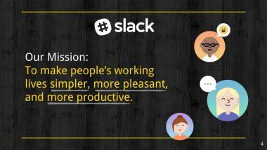Misión de Slack