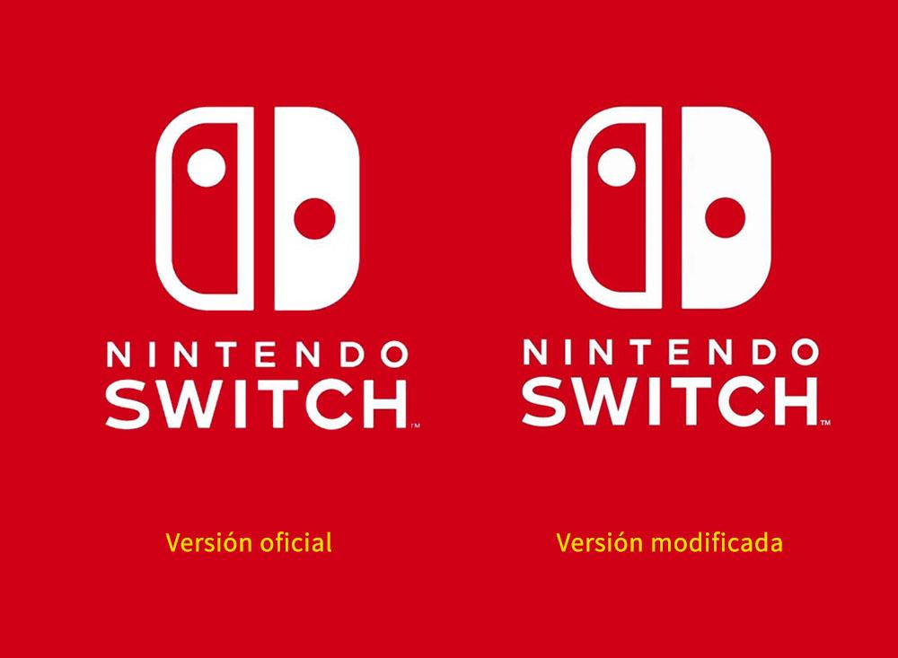 Logo geométrico de Nintendo Swich