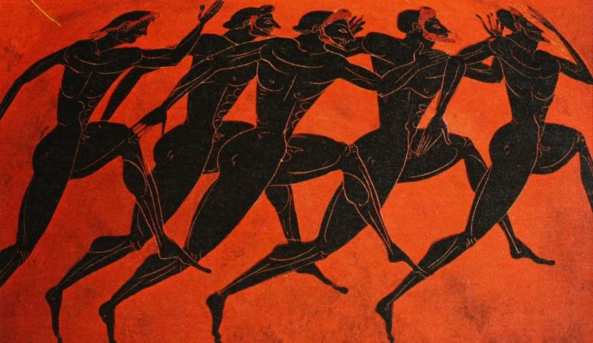 Dibujo Olimpiadas Clásicas Griegas