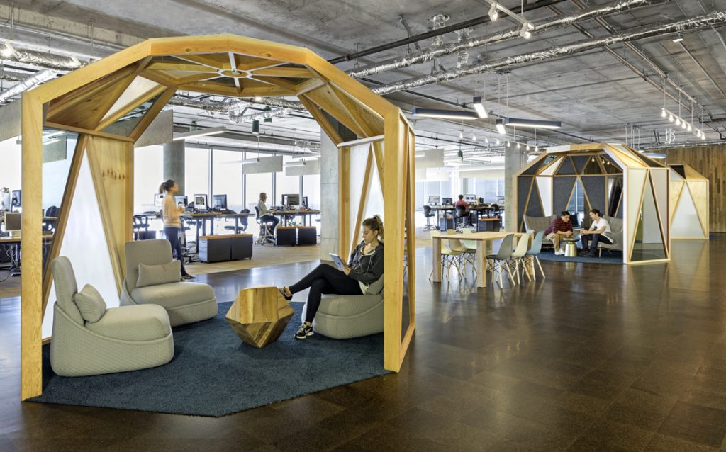 Studio O+A de Cisco en su sede de San Francisco