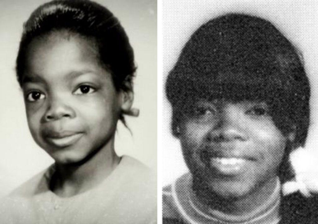 Oprah Winfrey cuando era niña