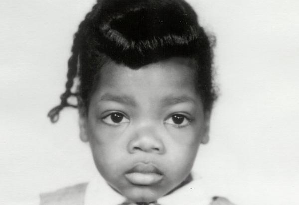 Oprah Winfrey alrededor de los 3 años de edad