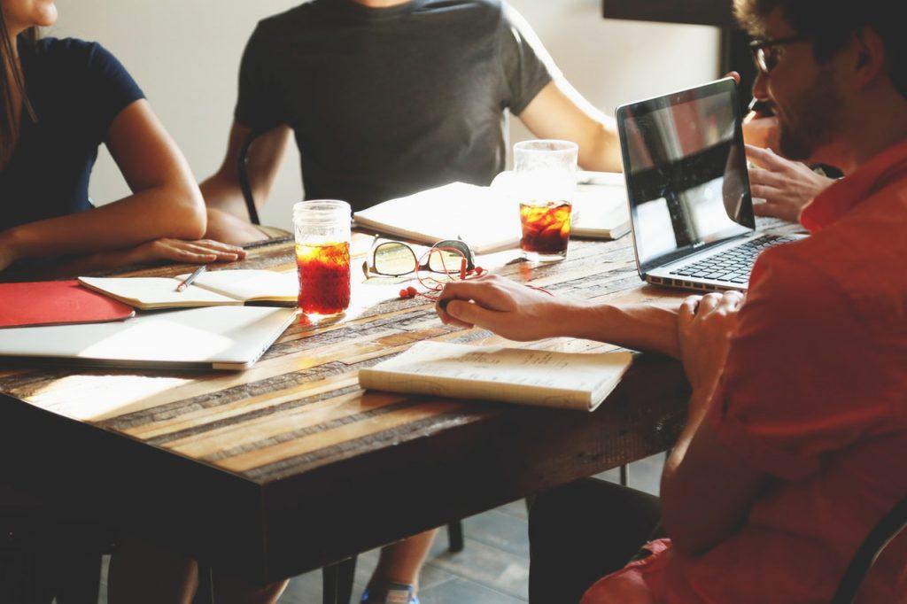 Trabajar en un espacio coworking
