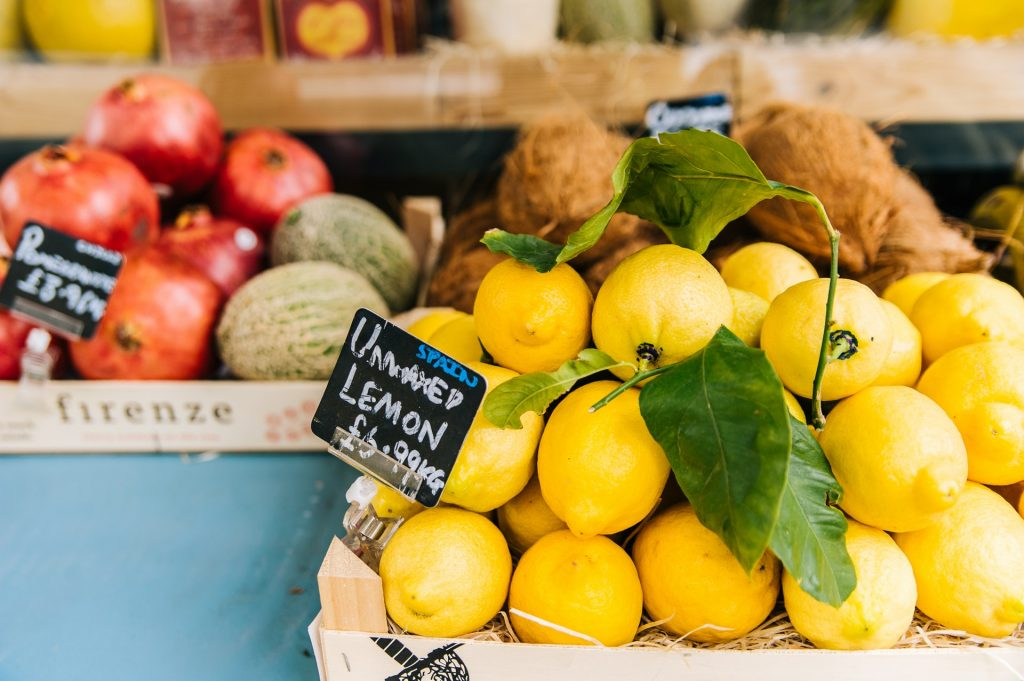 Precio de los limones