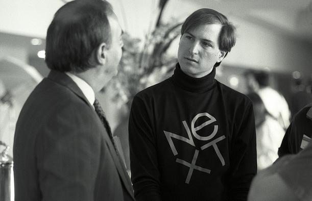 c853cac936f Foto: el encuentro de dos grandes gracias a Next, Paul Rand y Steve Jobs |  vía allaboutstevejobs.com