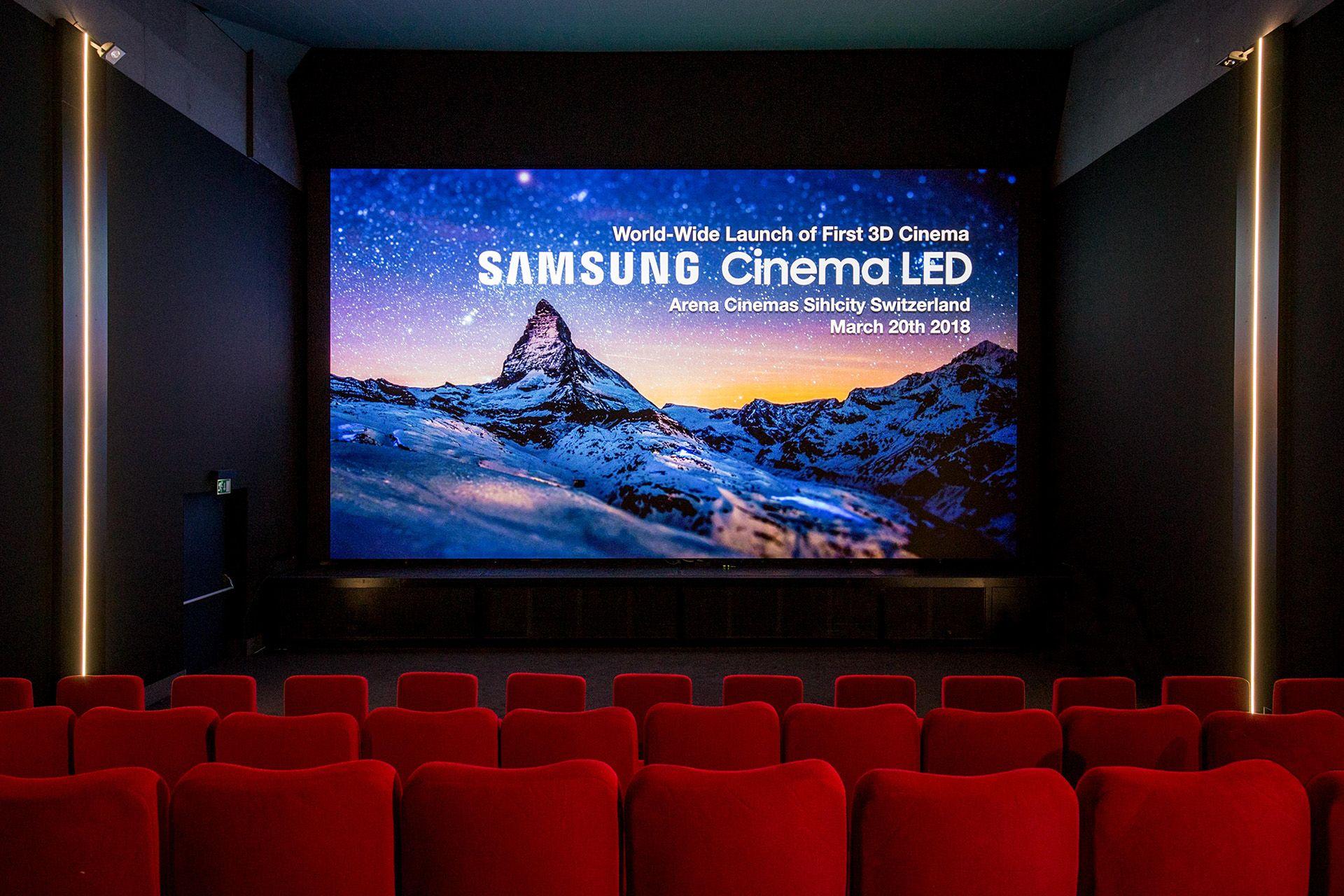 Pantalla Cinema 3D de Samsung