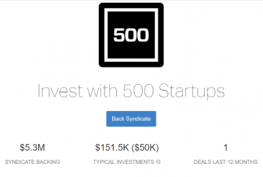 500 Startups Syndicate