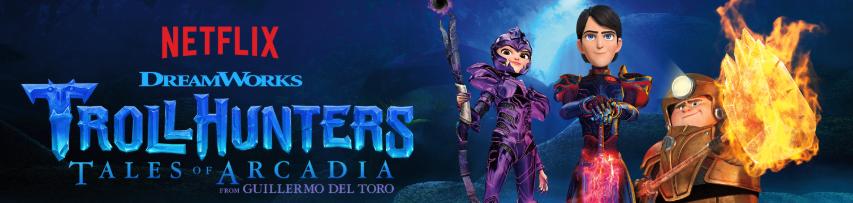 Serie de Troll Hunters de DreamWorks y Netflix