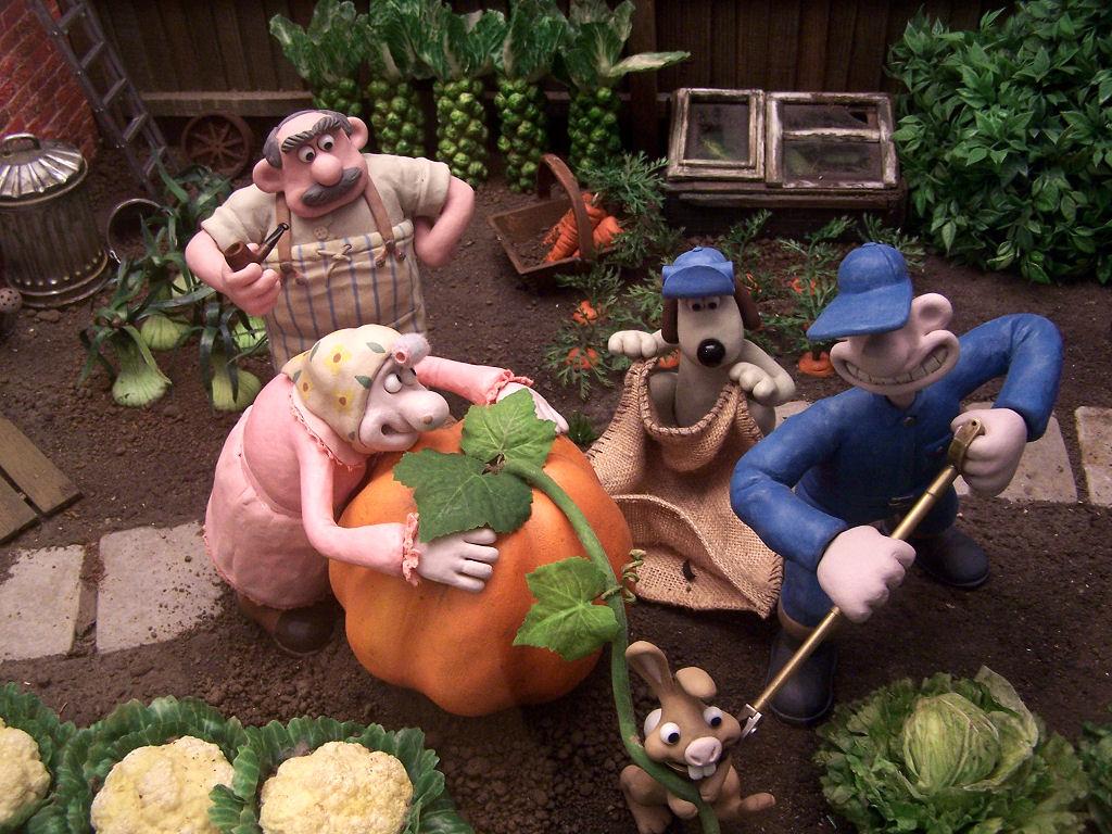 Exhibición de Wallace y Gromit: La batalla de los vegetales